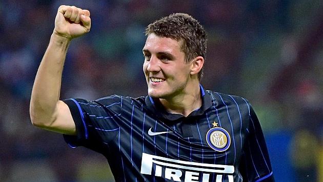 Kovacic, con la camiseta del Inter.