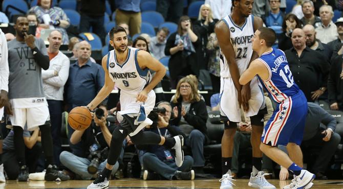 Ricky se hincha a asistencias contra los peores de la NBA