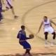 Despiporre total en la NBA: triple... ¡con seis pasos!