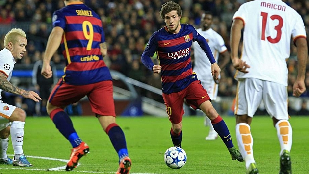 Sergi Roberto sidelined by ankle sprain