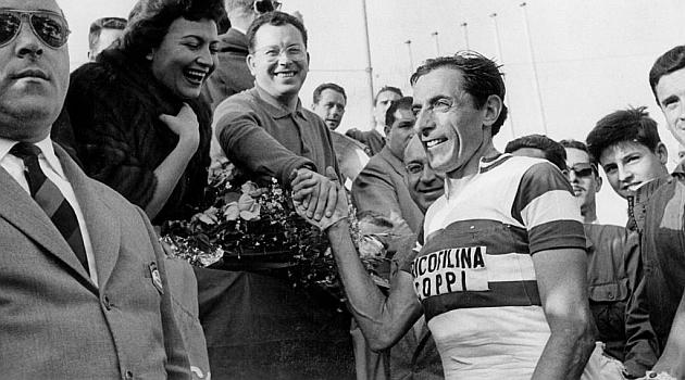 Fausto Coppi en la Vuelta Ciclista a España de 1959. FOTO: Archivo MARCA