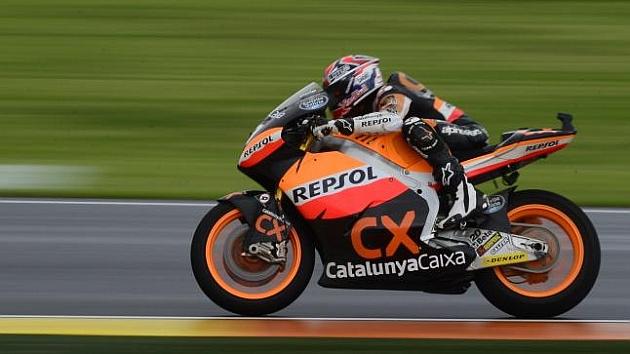 Márquez ganó su campeonato de Moto2 con Suter (HEINO KALIS)