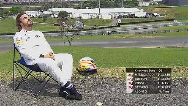 McLaren no llevó bien el 'bronceado' de Fernando Alonso