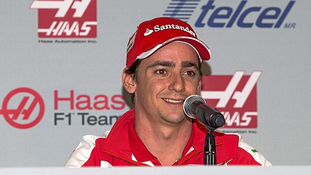 Esteban Gutiérrez ya trabaja para Haas