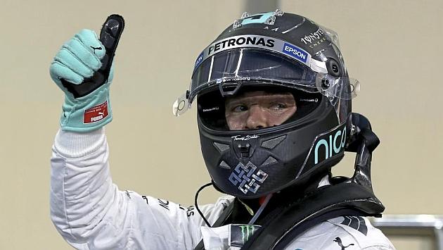 Rosberg sigue a lo campeón