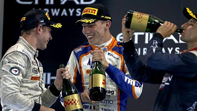 Vandoorne, Marciello y Evans disfrutan en el podio (Rv-Racing-Press)