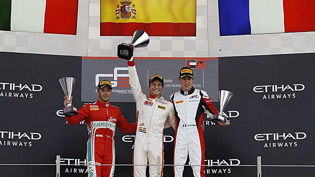 Alex Palou gana la última carrera de la GP3