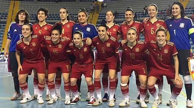 España acaba tercera tras golear con brillantez a Portugal