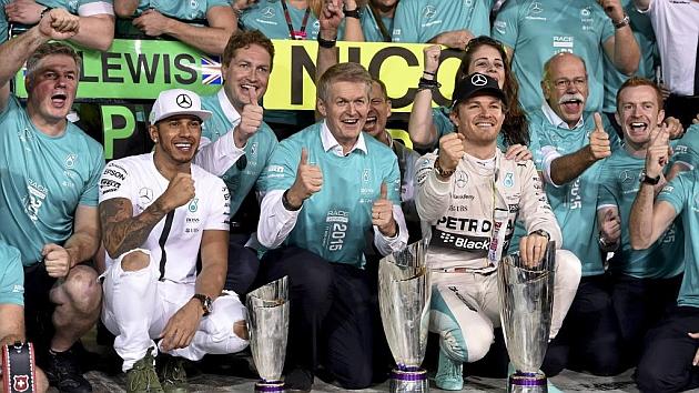 Hamilton: Rosberg and I are rivals, not friends
