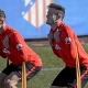 Simeone ensaya con Sa�l de mediocentro y Torres de delantero