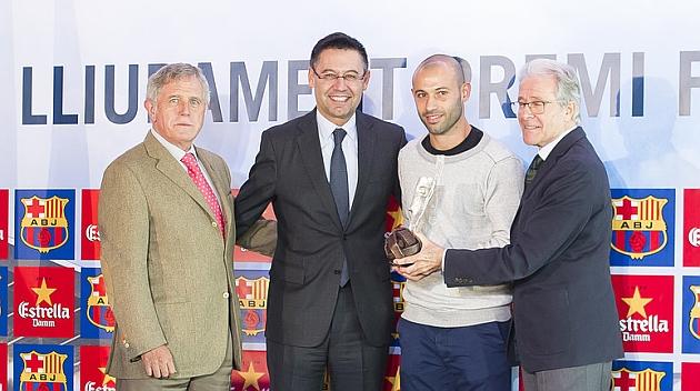 Mascherano: Espero pasar muchos años más en el Barcelona