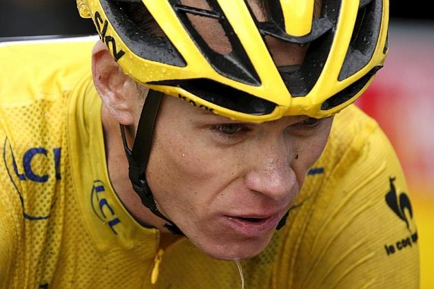 Chris Froome, en acción durante el pasado Tour de Francia. / Reuters
