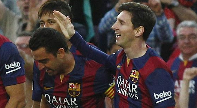 Xavi: Messi is the best at everything