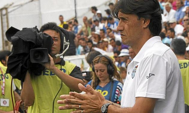 Gustavo Siviero, en su etapa como entrenador del Atlético Baleares