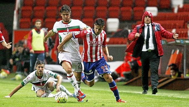 Jony, durante el partido ante el Granada