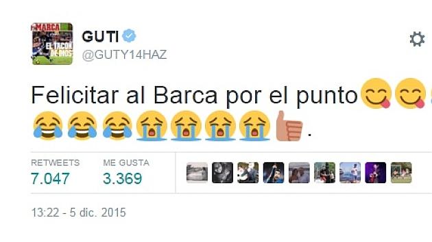 Guti 'responde' a Piqué
