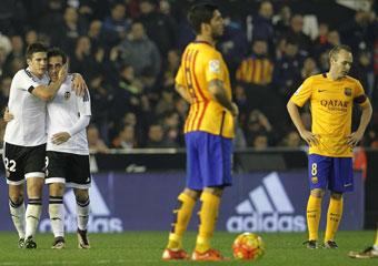 Valencia vs Barcelona en directo