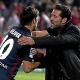 """Simeone: """"La fortaleza defensiva parte del trabajo de los delanteros"""""""