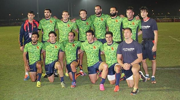 El Seven masculino acabó subcampeón en Dubai