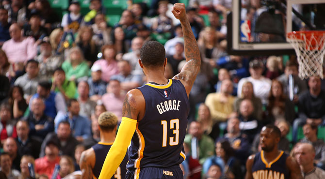 La estéril exhibición del futuro MVP de la NBA, Paul George