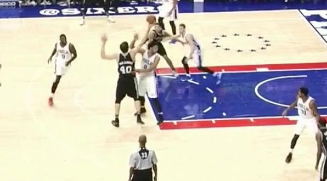'Burreo' de altura en la NBA