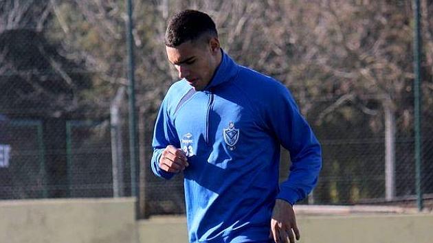 Nico Delgadillo, en un entrenamiento. / FOTO: @Velez