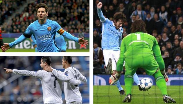 Elige el mejor gol de la jornada de Champions