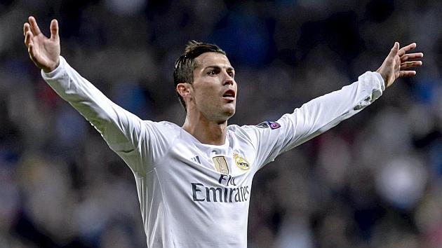 Cristiano Ronaldo celebra su gol ante el Malmoe