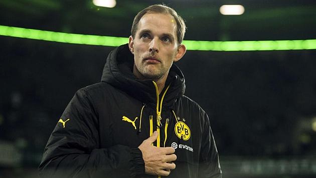 Tuchel, técnico del Borussia Dortmund. Foto: Oddo Andersen (AFP).