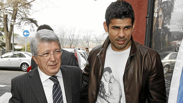 Cerezo: Diego Costa can slam that door shut again, it's mighty cold in here