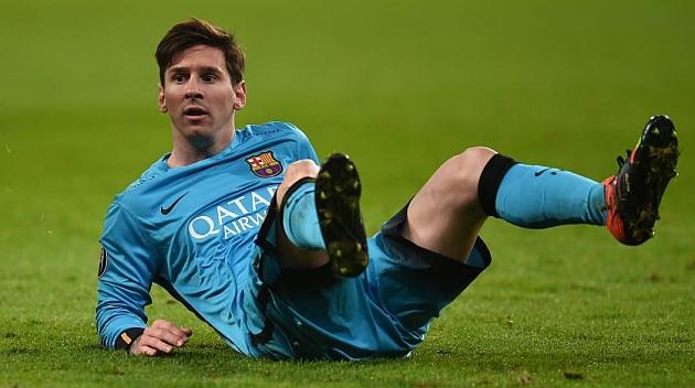 Leo Messi, durante el partido ante el Bayer Leverkusen