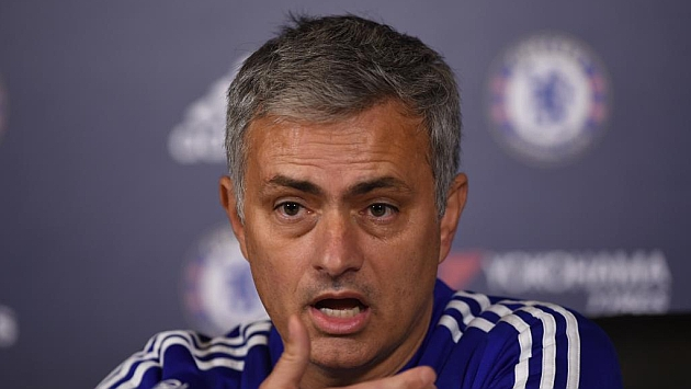 Mourinho, en rueda de prensa.