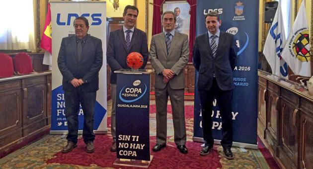 Presentación de la Copa de España de fútbol sala