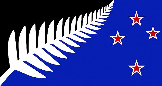 Los 'All Blacks' se 'cuelan' en la nueva bandera de Nueva Zelanda