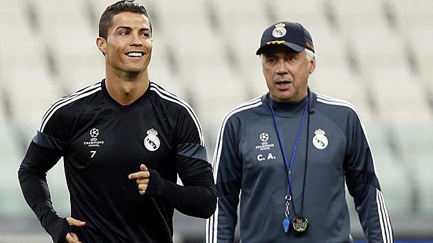 Cristiano Ronaldo: I miss Ancelotti a lot
