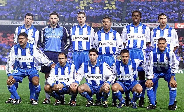 El once del Deportivo que ganó por primera vez en su historia en el Camp Nou