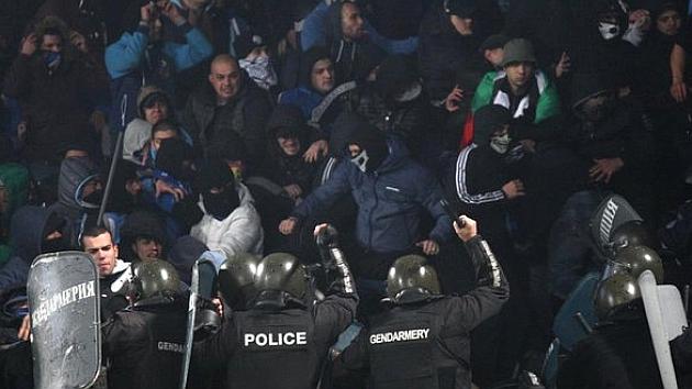 Suspendido un partido en Bulgaria por incidentes violentos en el campo