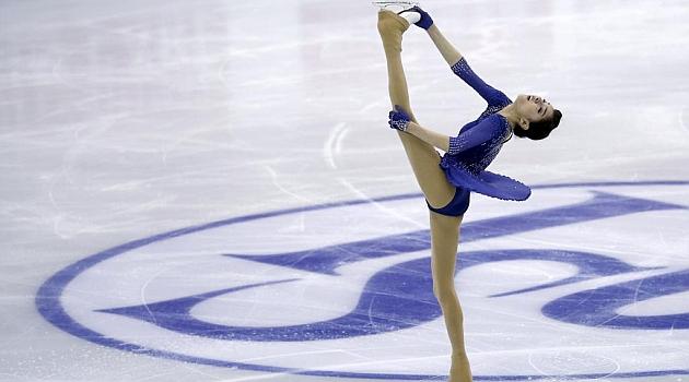 Evgenia Medvedeva. REUTERS