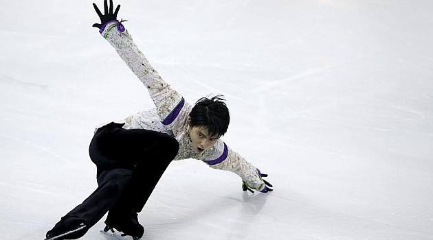 Yuzuru Hanyu. REUTERS
