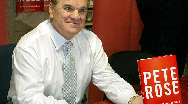 Pete Rose. AFP