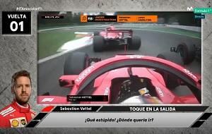 Las radios del GP de Monza hablan