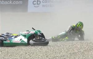 ¿Cuál es el protocolo tras una caída en moto?