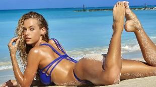 Hannah Ferguson, las piernas m�s sexys de la playa