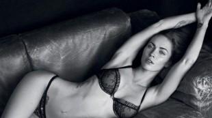 Megan Fox derrite la c�mara en lencer�a