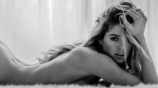 La holandesa Doutzen Kroes sorprende así de sensual