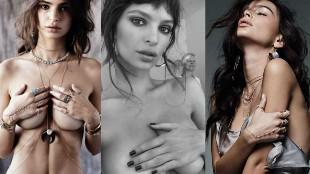 El nuevo y sensual topless de Emily Ratajkowski en Instagram