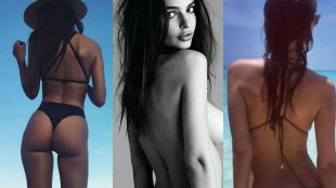 Emily Ratajkowski presume de culo más sexy que nunca