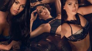 Megan Fox vuelve a la carga mostrando su lencer�a m�s sensual