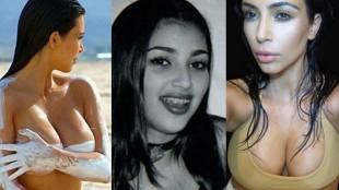 La incre�ble transformaci�n de Kim Kardashian
