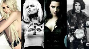 Así son las rockeras más sexys